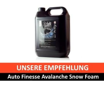 Snow Foam Empfehlung