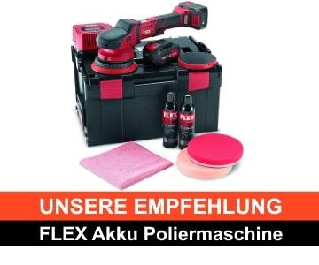 Flex Akku Poliermaschine Empfehlung