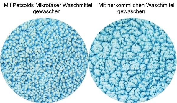 Verklebte Mikrofaser