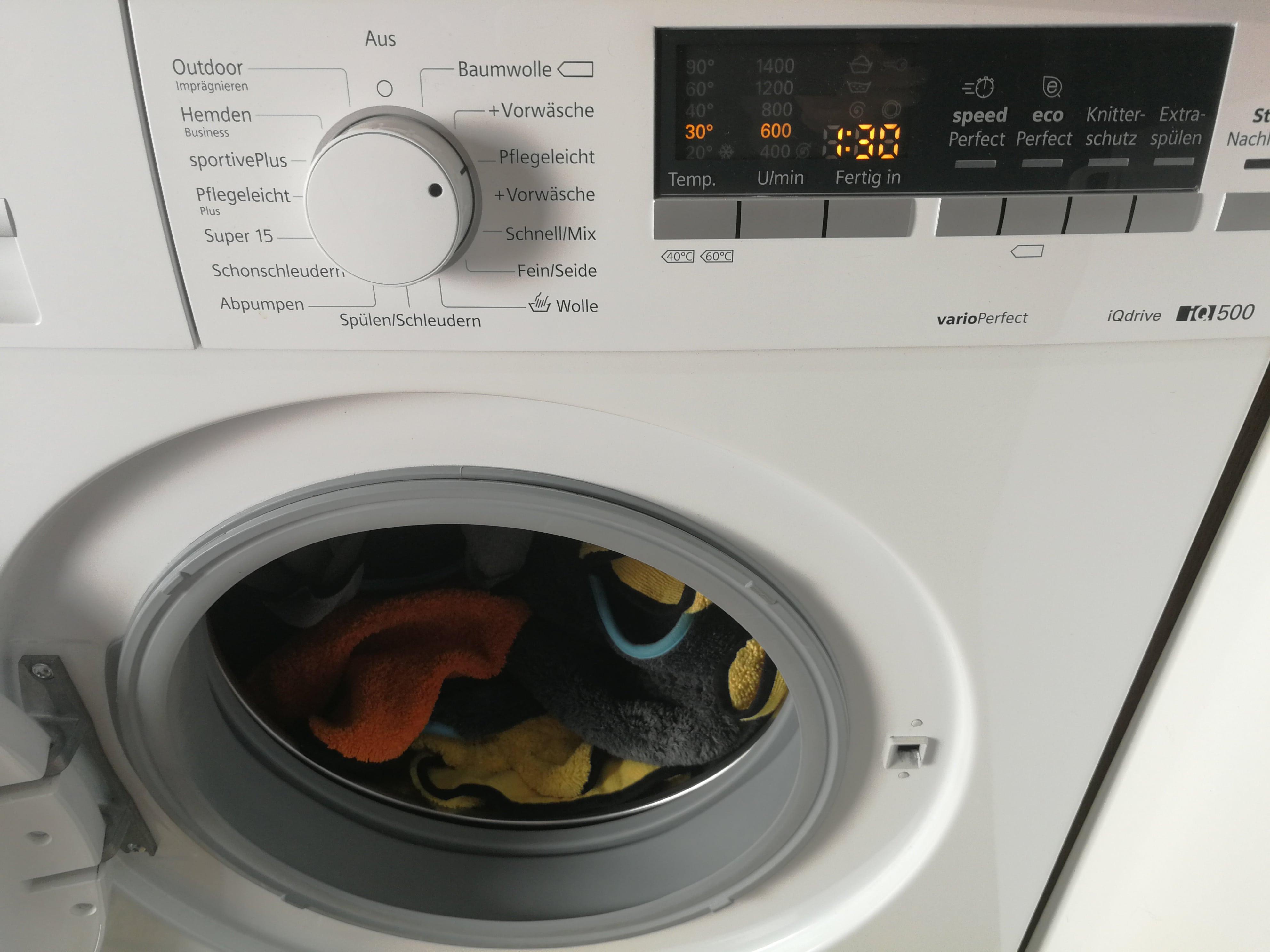 Mikrofasertücher richtig waschen